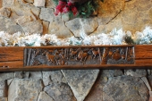 Bronze Inlay Mantle